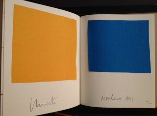 Christo / Accordion - Fold Book For The Umbrellas Japan And U.  S.  A Signed 1st 1991