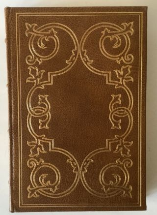 Daniel Defoe Robinson Crusoe Franklin Library 100 Greatest Books Leather