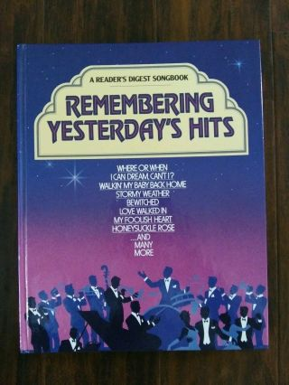 Vintage Readers Digest 1986 Remembering Yesterday
