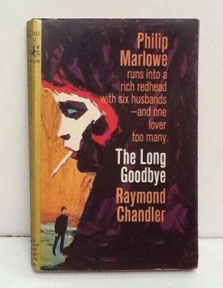 Vintage Pb The Long Goodbye By Raymond Chandler 1964 Pocket Book 45010