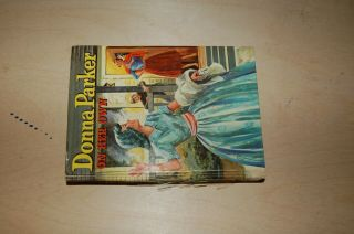 Vintage Donna Parker On Her Own By Marcia Martin Whitman Publishing 1957