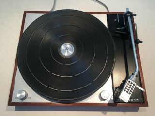 Thorens Td - 150 Mk Ii Turntable With Stanton 881s Cartridge And D81 Stylus.