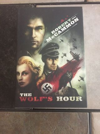 Robert Mccammon The Wolf's Hour Signed Limited Edition Sub.  Press.  Hardcover