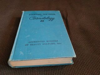 Standard Textbook Of Cosmetology Vintage Hair Styling Styles Beauty School