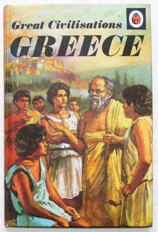 Vintage Ladybird Book - Great Civilisations Greece,  561,  15p First Edition - Fine