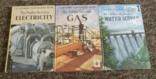 Vintage Ladybird Series 606e Public Services All 3 Books Full Set B2