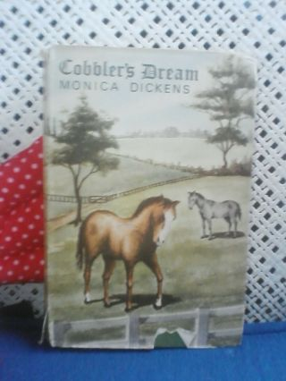 Cobblers Dream Vintage Book Monica Dickens Horse Fiction