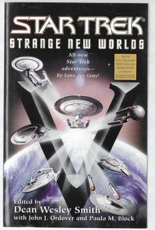 Star Trek Strange Worlds V Edited By Dean Wesley Smith