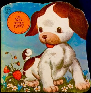 The Poky Little Puppy Book Vintage 1970