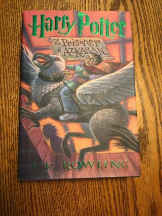 Harry Potter And The Prisoner Of Azkaban,  1st Us Edition