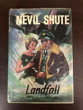 Landfall By Nevil Shute - Heinemann - H/b D/w - 1967 - £3.  25 Uk Post