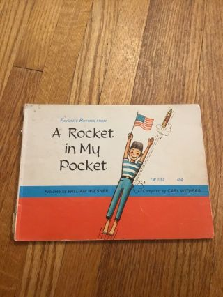 A Rocket In My Pocket By Carl Withers,  William Wiesner Scholastic
