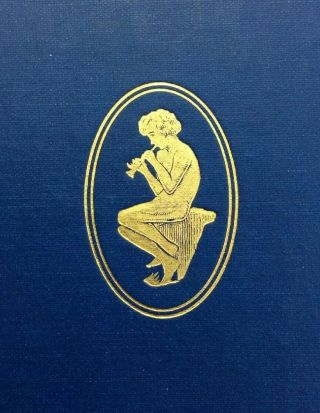 1928 Theocritus,  Bion & Moschus By A Lang Decorative Book
