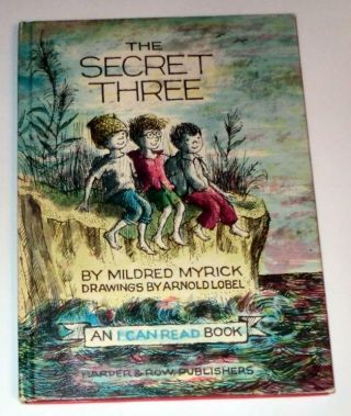 The Secret Three By Mildred Myrick (1963,  Hardcover) An I Can Read Book Vintage