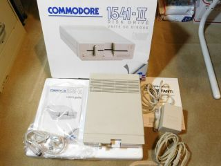 "Commodore 1541 - Ii 5.  25 "" Floppy Disk Drive System,  And"