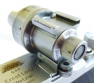 Leica Leitz Universal Viewfinder Vidom All Chrome Wetzlar