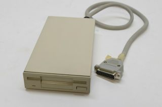 "Air Products External 3.  5 "" 880k Floppy Disk Drive For Commodore Amiga 500 2000"