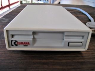"Commodore Amiga 3.  5 "" Ext Floppy Drive For The 500 600 1000 1200 2000 3000 4000"