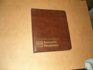 Radio Shack Trs - 80 Model Ii 26 - 4504 Accounts Receivable (no Diskette) From 1980