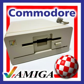 Commodore Amiga A1010 External Floppy Disk Drive In - Boxed