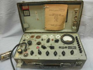 Hickok Tv - 7b/u Mutual Conductance Tube Tester - Parts Nr