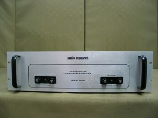 Audio Research D - 120 High Definition Stereo Power Amplifier - Parts On