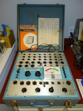 B&k Model 707 Dyna - Jet Dynamic Mutual Conductance Tube Tester,