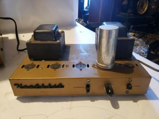 1958 Heathkit Ua - 1 Monoblock Tube Amplifier No Tubes