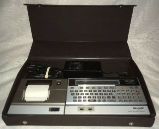 Sharp Pc - 1500a Pocket Computer W/ Printer Interface - Reserved (genekatz1)