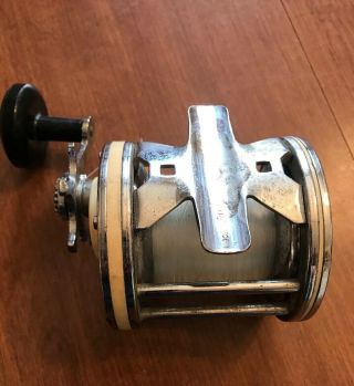 Vintage Ocean Big Game Fishing Reel Made In France