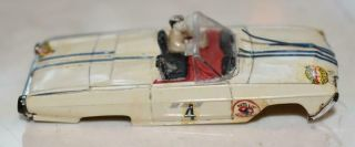 Vintage Aurora 1962 Thunderbird Convertible Ho Scale Slot Car Body