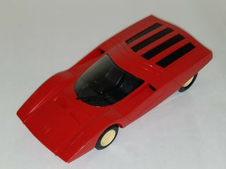Vintage Tri - Ang Ferrari 512 S Friction Car