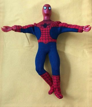 "Vintage 1970s - 1978 Mego Large 12 "" Spider - Man Action Figure Toy Doll"