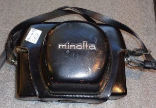 Minolta Easy Flash Ho - Matic 9 Film Camera With Lens And Case