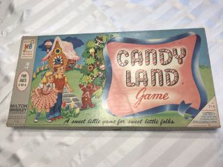 Vintage 1950s Candyland Board Game