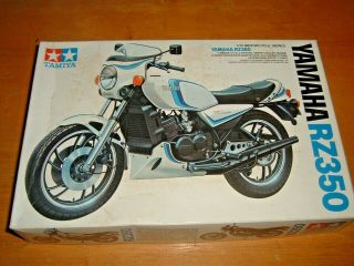 Vintage 1/12 Scale Tamiya Model Yamaha Rz350 Motorcycle Kit 1404