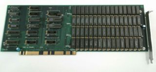 Unbranded Memory Expansion Rev A Pulled From Commodore Amiga 2000