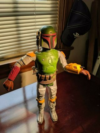 Vintage Star Wars Boba Fett 12 Inch Figure With Jetpack
