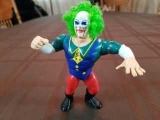 Vintage Hasbro Wwf 1993 Doink The Clown Figure Wrestling Figures Wrestler
