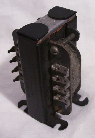 Western Electric 218a Input Transformer For 205d Triodes