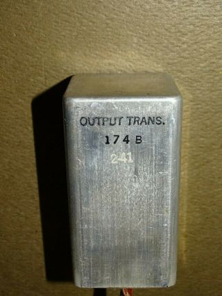 Western Electric Type 174b Output Transformer,  For Tube Amplifier