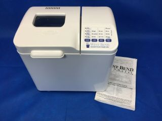 Vintage 1997 West Bend Automatic Bread And Dough Maker Model 41063 1.  5 Lbs