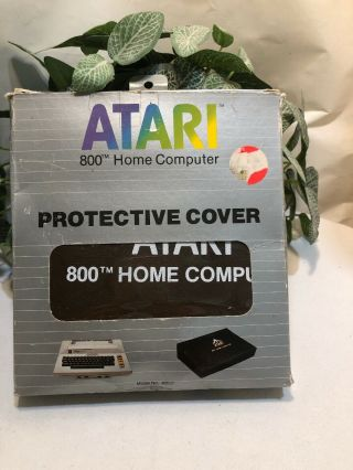 Atari 800 Home Computer Protective Cover,  Brown