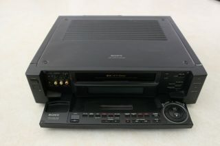 Sony Slv - R1000 S - Vhs Vcr Video Recorder Editing Hi - Fi 4 Head