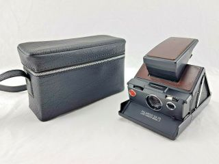 Polaroid Sx - 70 Land Camera Model 2 With Carrying Case -