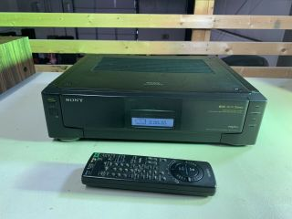 Sony Slv - R1000 S - Vhs Vcr Video Recorder Editing Hi - Fi.  Fully Functional,  Remote