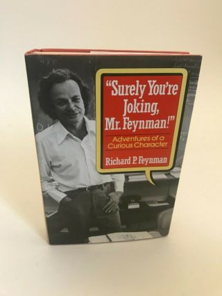 Surely You're Joking Mr Feynman 1st Edition Richard Feynman