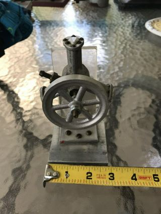 Vintage Model 3 Cylinder Radial Air Pressure Engine Toy Hobby Science Kit? Runs