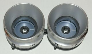 "Revox Aluminum Nab Hub Adapters For 10.  5 "" Reel To Reel Tape Players"