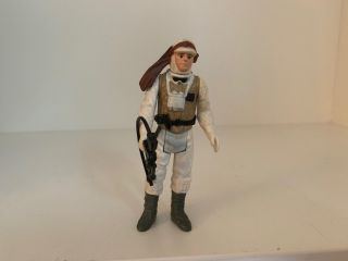 Star Wars Vintage Figure - Luke Skywalker Hoth - Complete - 1980 Weapon Kenner